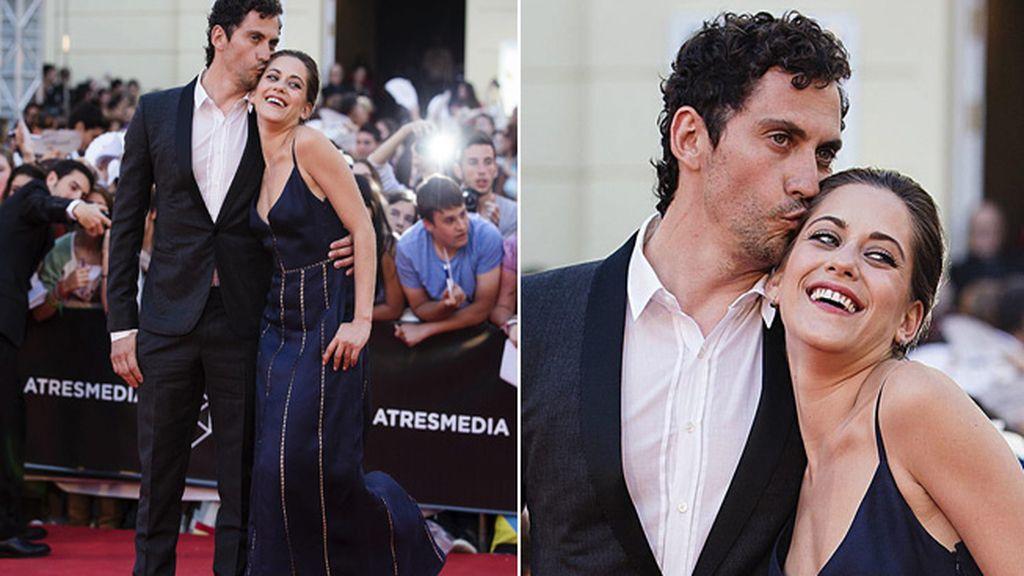 Los actores y hermanos Paco León y María León