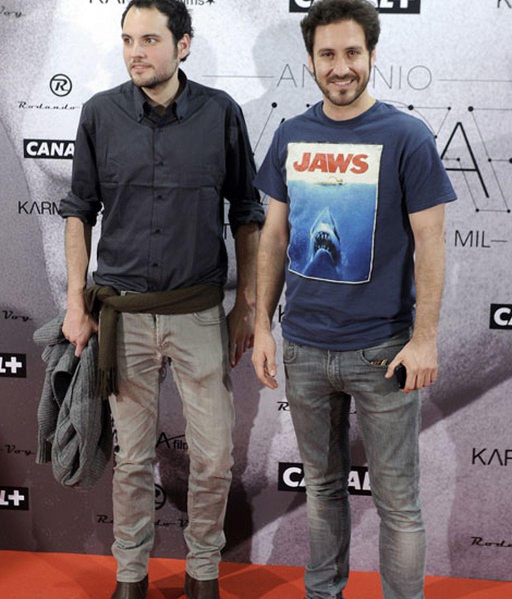 El actor Álex Gadea fue uno de los asistentes