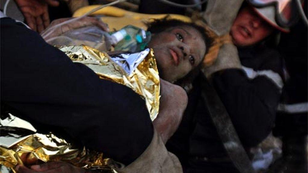 Nueva superviviente en Haití