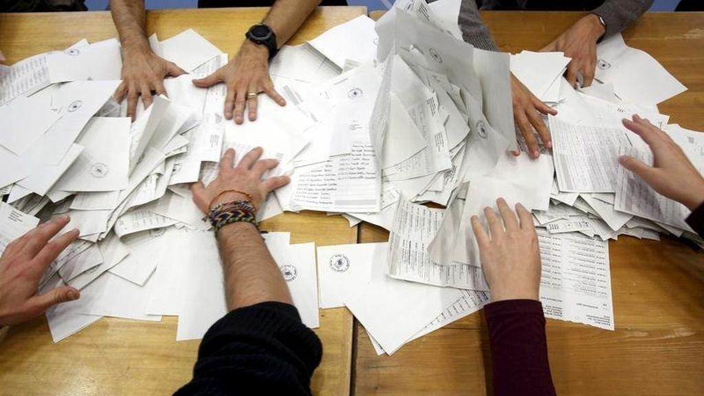 Recuento referéndum Suiza