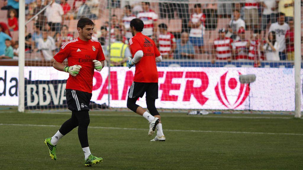 Diego López Iker Casillas
