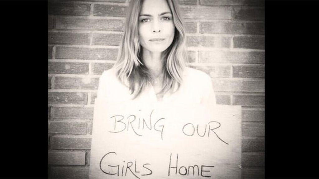 Verónica Blume apoya la campaña