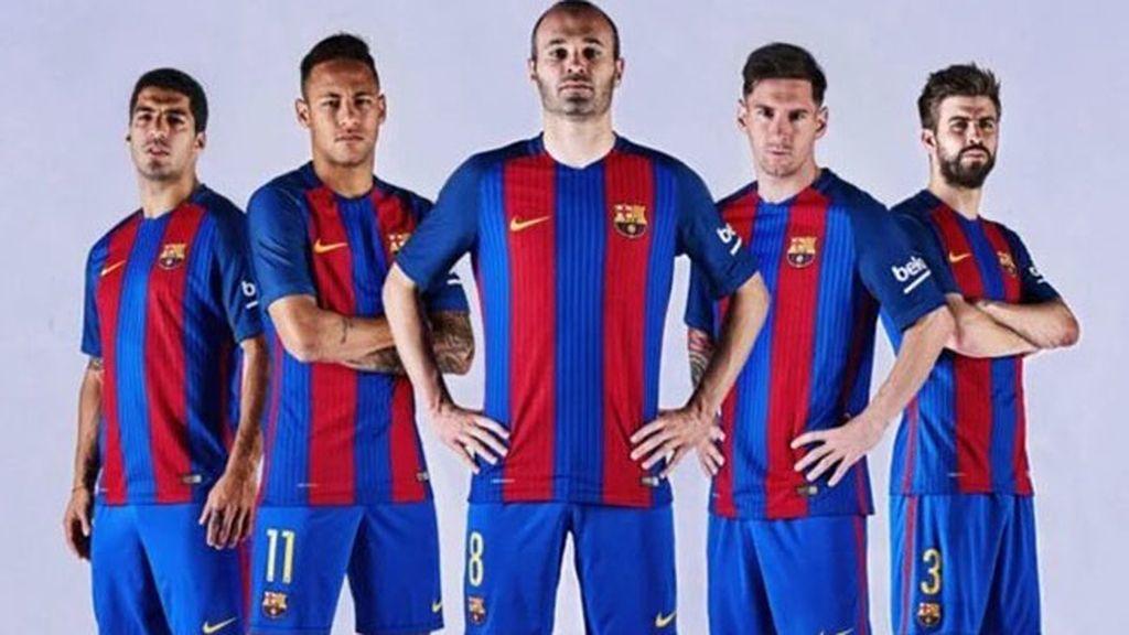 Equipación del FC Barcelona en la temporada 2016/2017