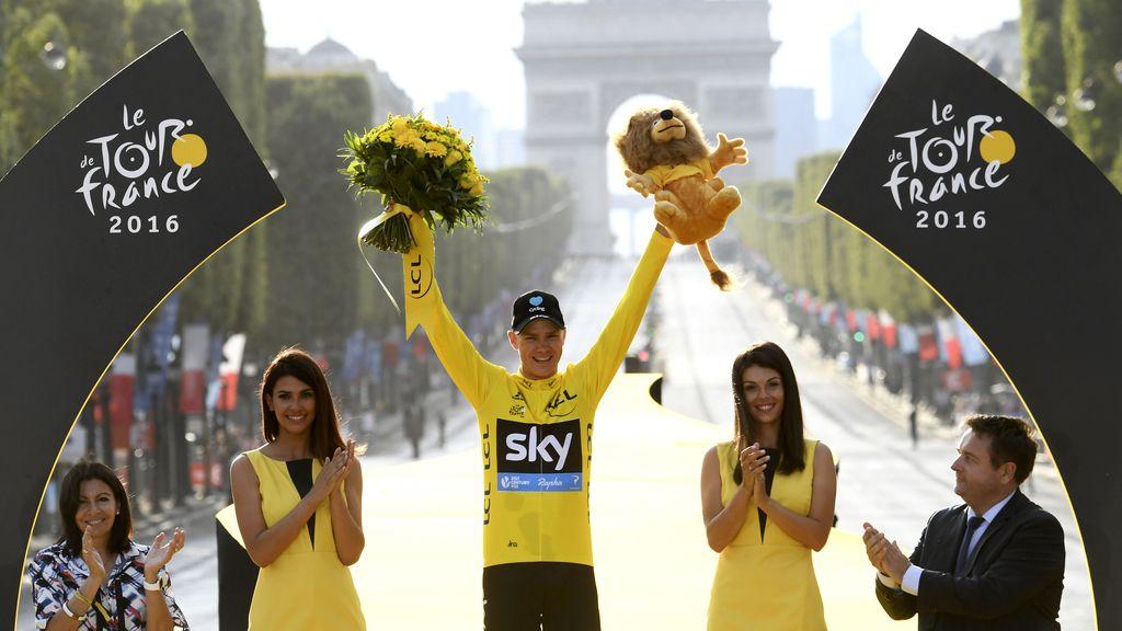Froome se corona campeón del Tour de Francia (24/07/2016)