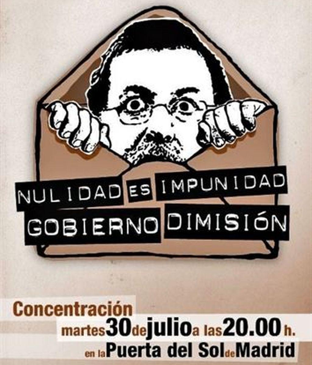 IU y otras organizaciones se concentrarán en la Puerta del Sol para pedir la dimisión del Gobierno