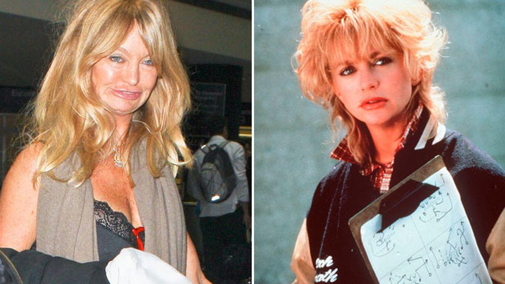 Goldie Hawn, antes y ahora