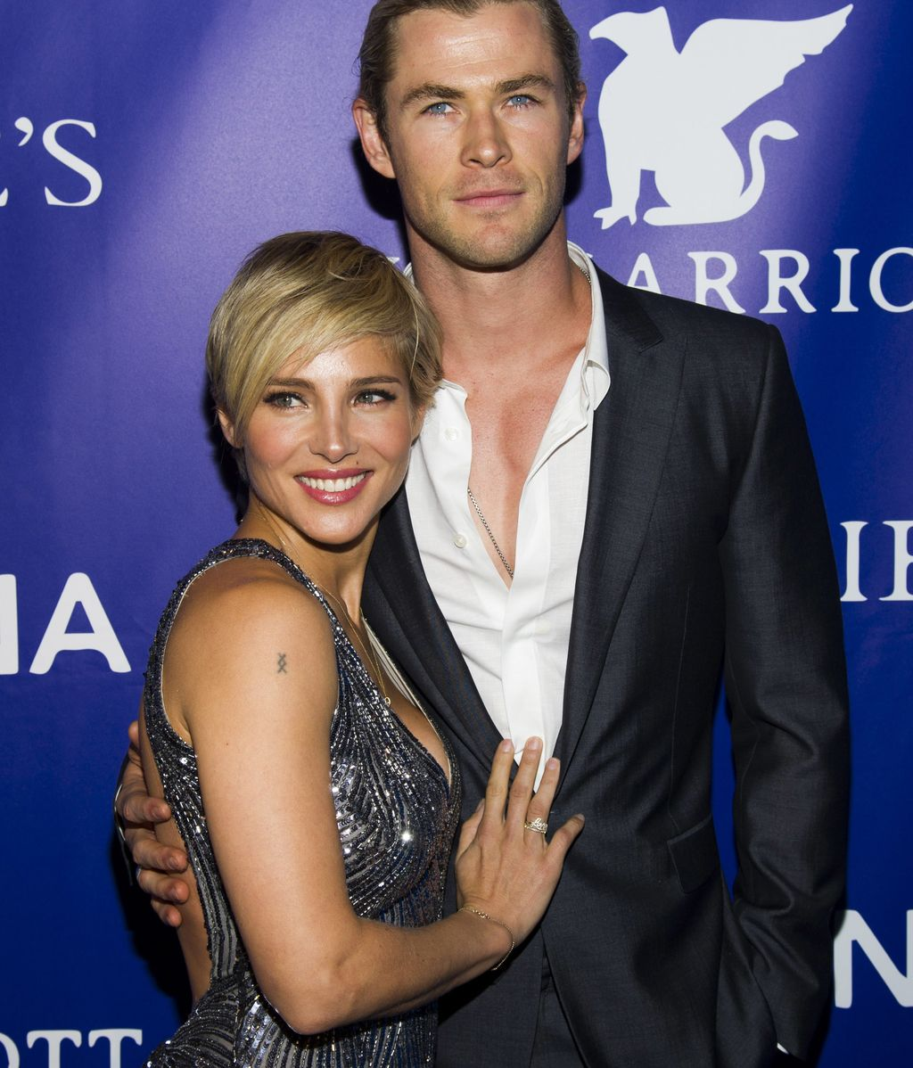 Elsa Pataky y Chris Hemsworth, amor a la moda