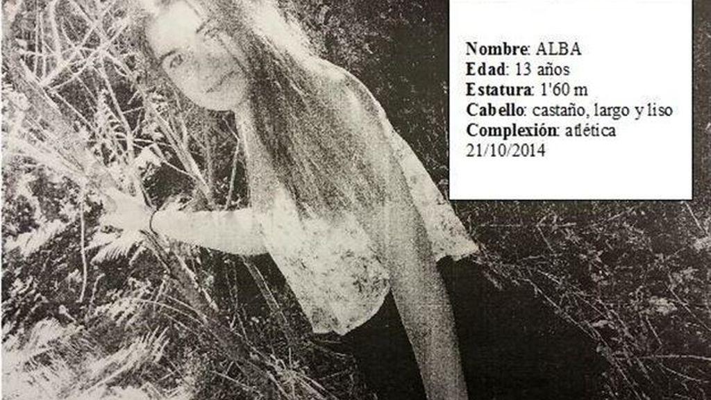 Alba, menor desaparecida en Ferrol