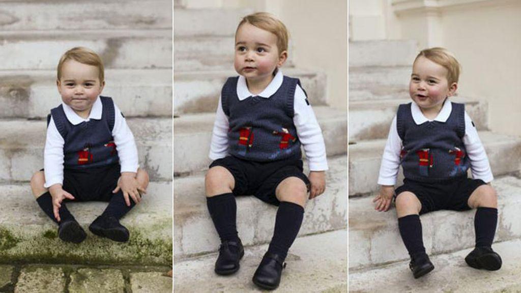 Fotos navideñas del Príncipe George