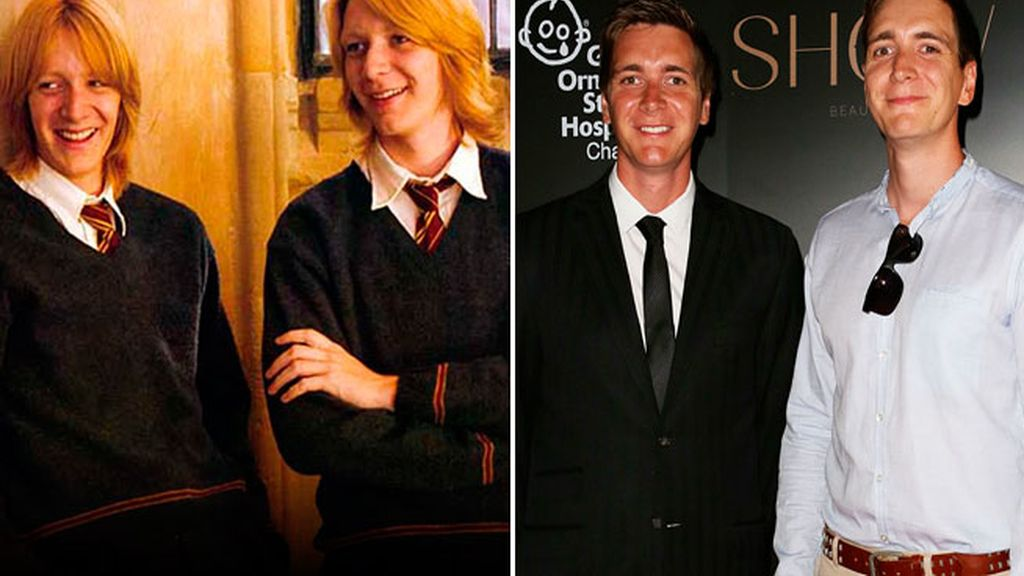 James y Oliver Phelps, los gemelos más traviesos
