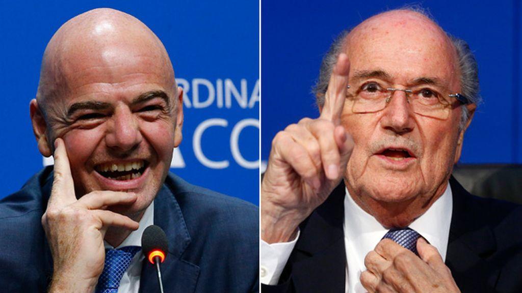 """Blatter pide a Infantino """"calma"""" y le advierte de que la gente esperará """"milagros"""""""