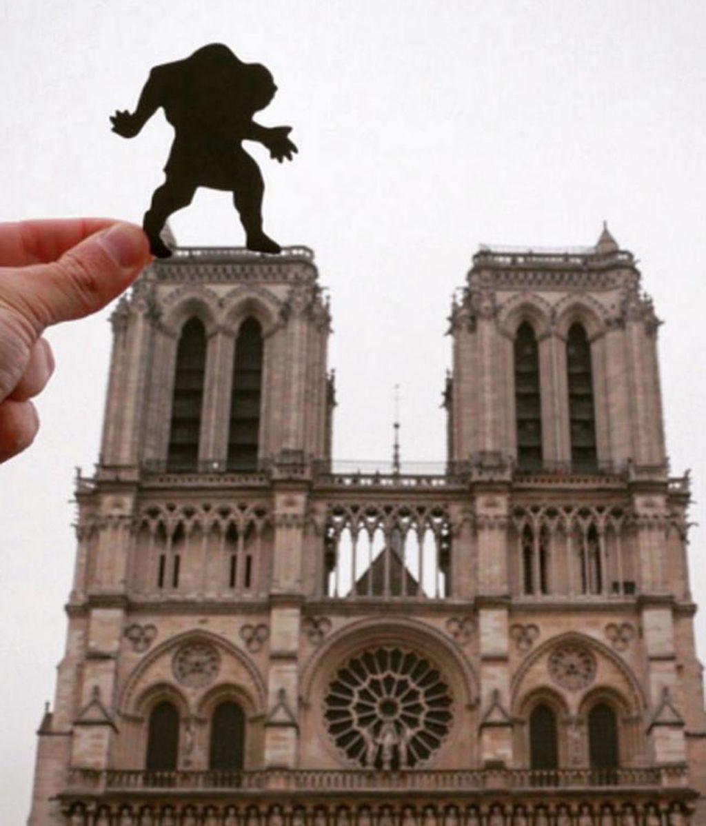 La Catedral de Notre Dame, custodiada por el jorobado