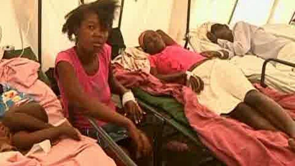 Sin recursos para combatir el cólera