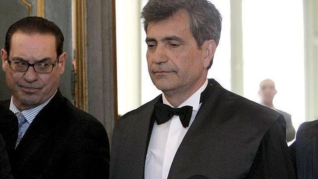 Carlos Lesmes durante la toma de posesión de su cargo