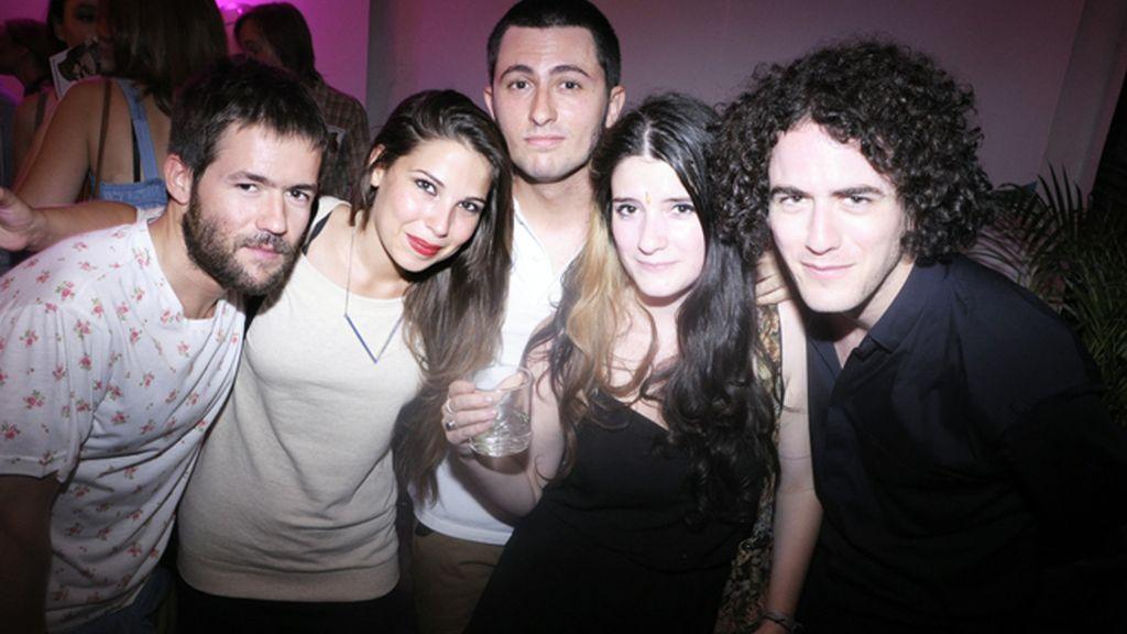 Gonzalo Jiménez, Olga Barazer, Carlos L.Patiño, Constance Arroyo y Alberto Puras