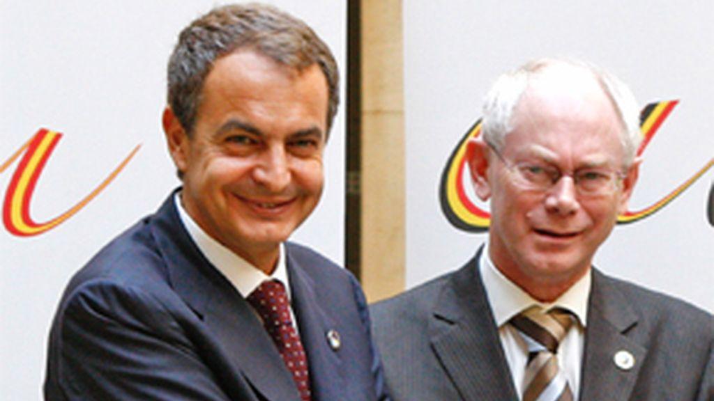 Zapatero se reúne con la Comisión Europea