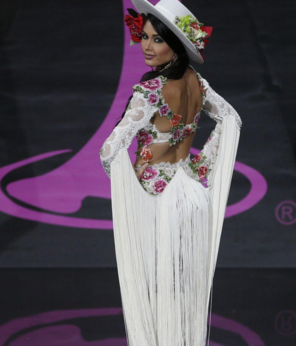 La española Patricia Yurena segunda en el certamen Miss Universo