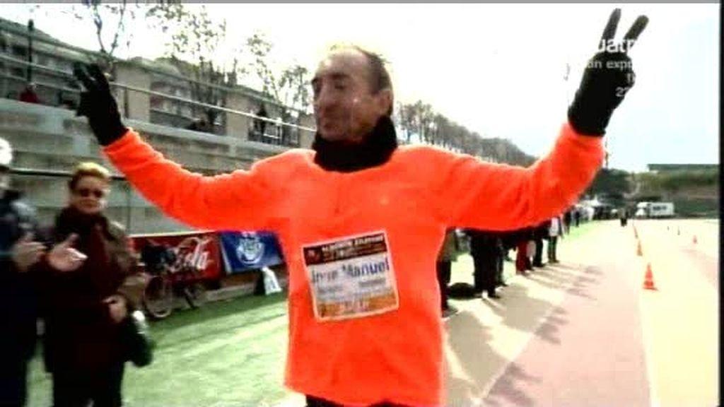 Los ganadores de la ultramaratón de Barcelona