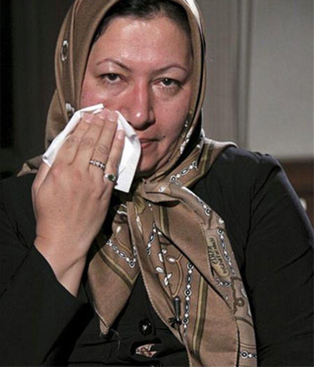 Imagen cedida por la cadena iraní Press TV el 9 de diciembre de 2010 de Sakineh Mohammadi Ashtiani, ciudadana iraní condenada a morir lapidada por cometer adulterio. EFE/Archivo