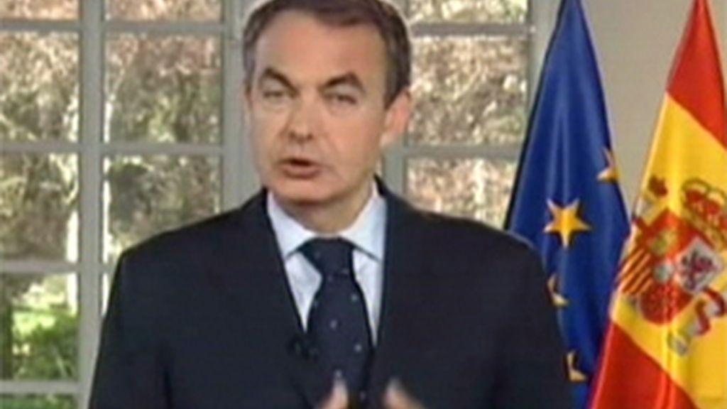 Zapatero en la web
