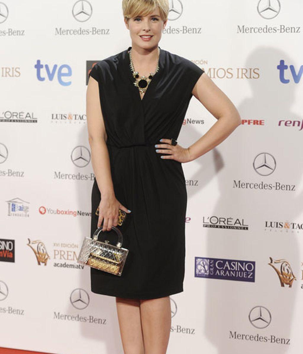Tania Llasera también acudió a la gala