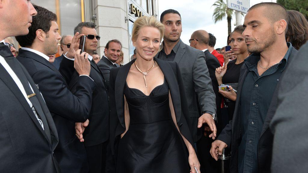 Naomi Watts inaugura la nueva tienda de Bulgari en Cannes