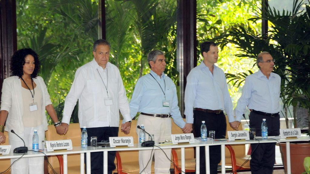 Conversaciones de paz entre el gobierno colombiano y las FARC