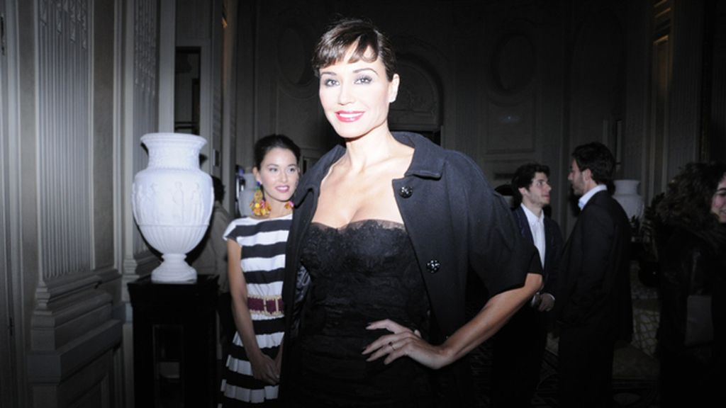 "Juncal Rivero parecía sacada de ""La Dolce Vita"" con este vestido de Dolce & Gabbana"