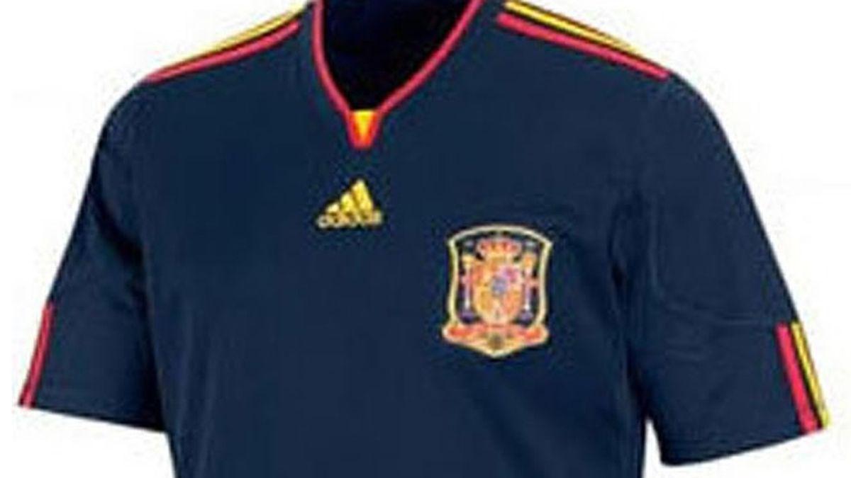 La segunda camiseta de España