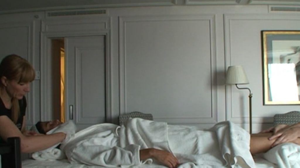 Un relajante masaje en el hotel Villamagna