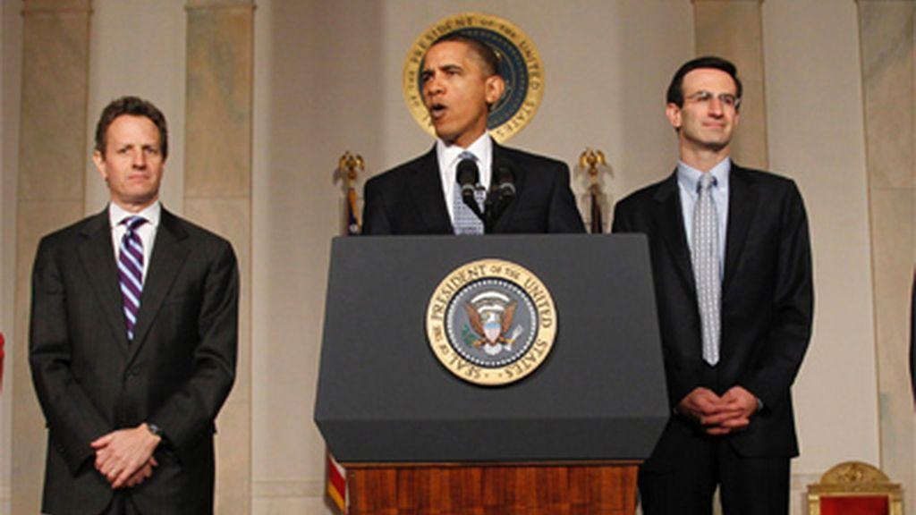Obama prevé para este año un déficit récord de 1,56 billones de dólares