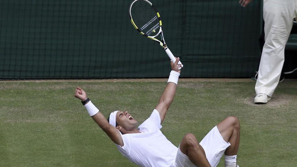 Nadal está en la final de Wimbledon