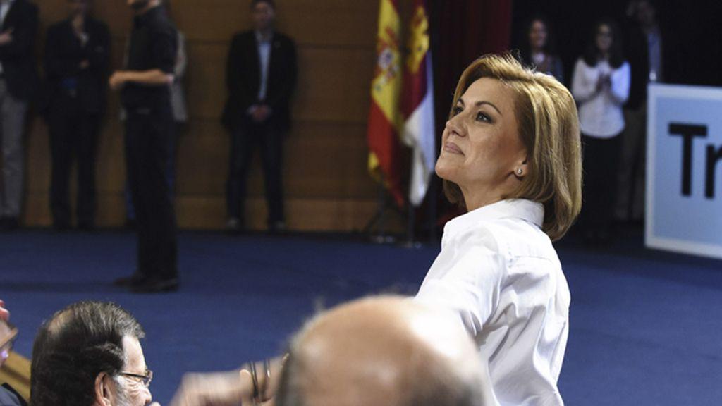 María Dolores de Cospedal, en el acto de rpesentación para su reelección