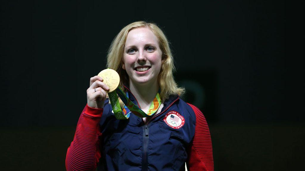 Virginia Thrasher, primera medallista de oro en los Juegos de Río (06/08/2016)