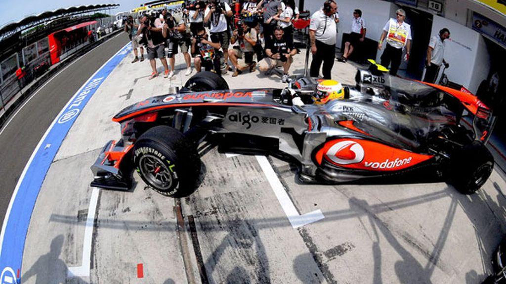 McLaren, más cerca