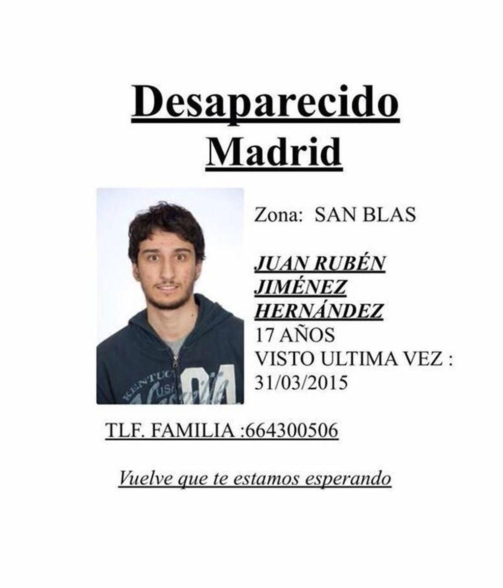Buscan a un joven desaparecido en San Blas