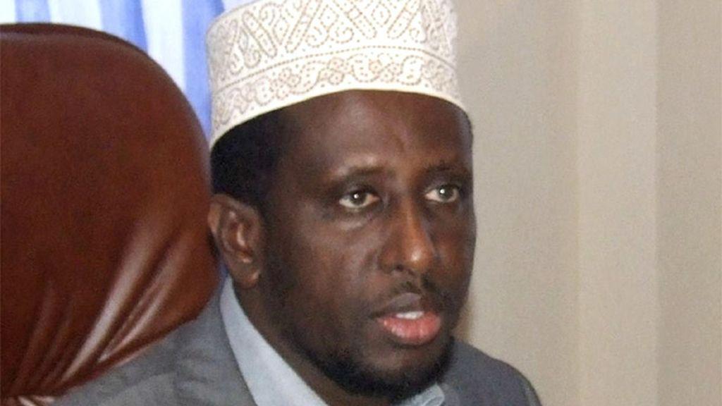 Presidente somalí, Sharif Sheikh Ahmed