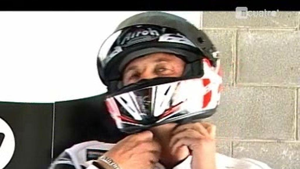 La carrera en moto de Jesús Calleja y Héctor Barberá