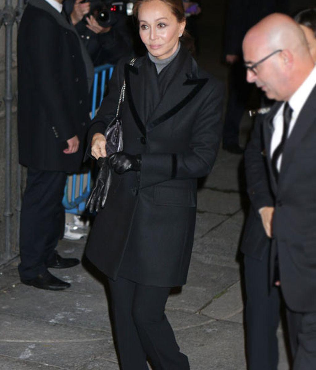 Isabel Preysler estuvo presente en la despedida a la Duquesa
