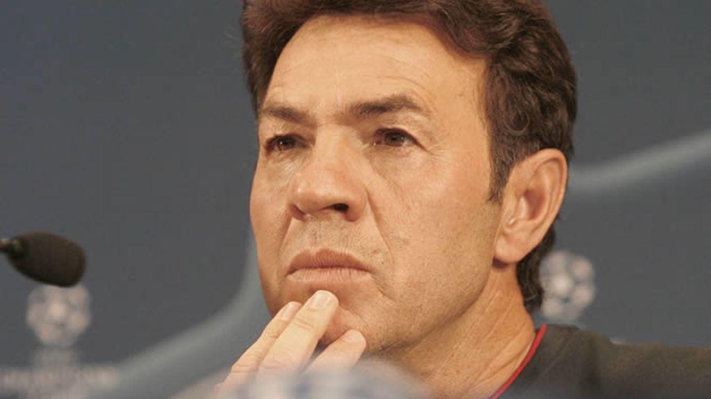 Abel Resino, técnico del Atlético de Madrid