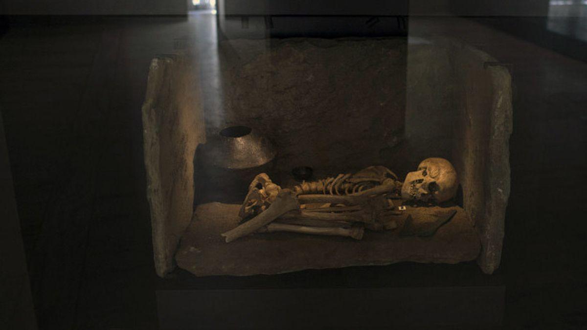 Enterramiento de una persona de la Edad de Bronce