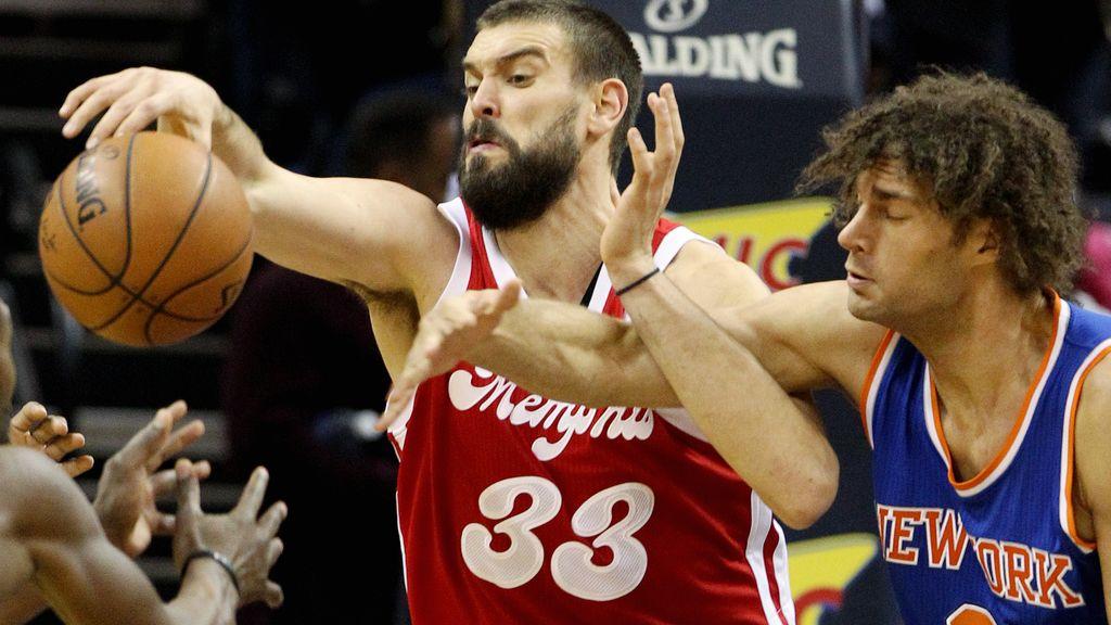 Marc Gasol brilla con 37 puntos ante los Knicks de Calderón