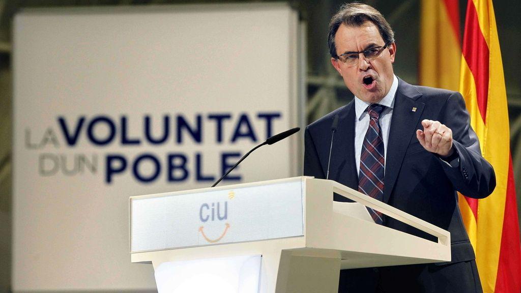 Artur Mas. Foto:EFE