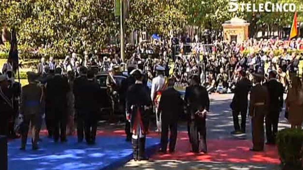 El Rey preside el Homenaje a los Caídos por el Día de las Fuerzas Armadas