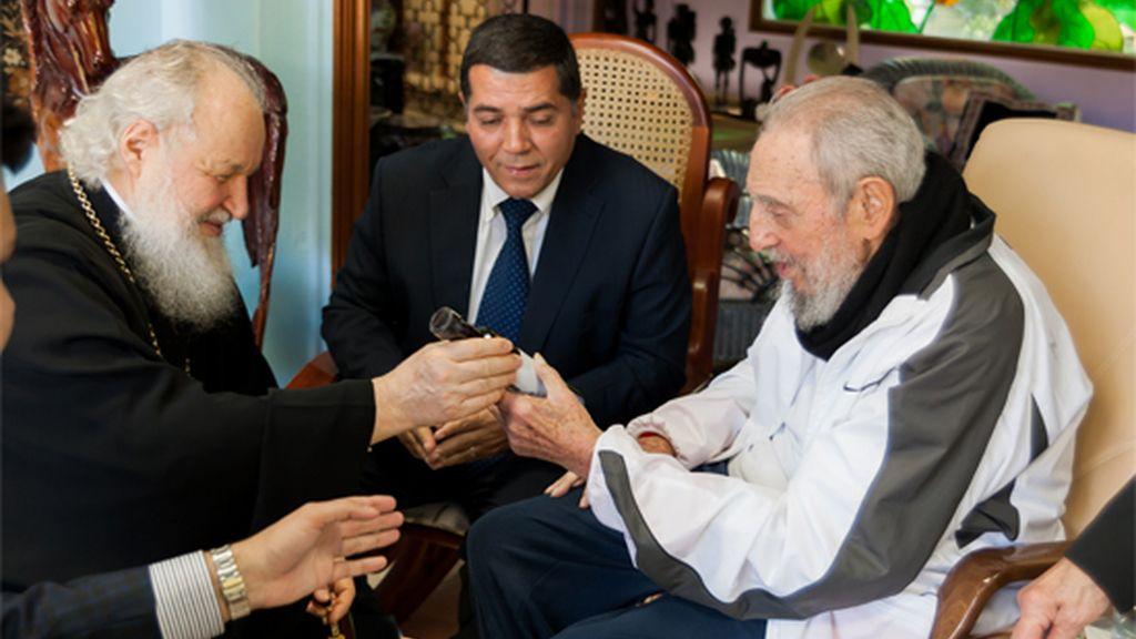 Fidel Castro y Kiril en Cuba