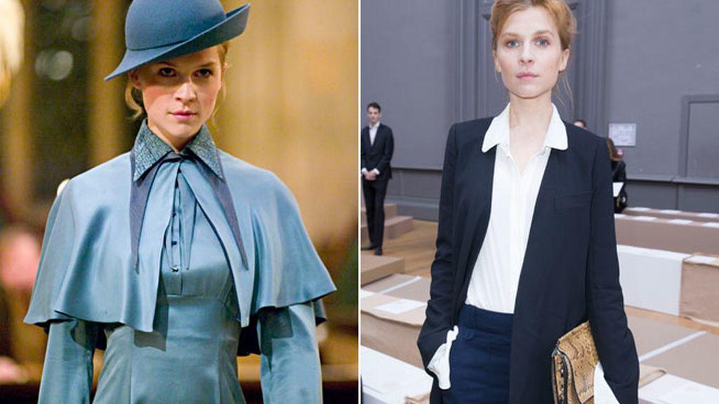 Clémence Poésy, encanto francés en la saga de Harry Potter