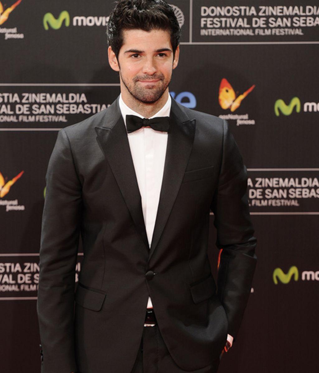 Miguel Ángel Muñoz (MAM) acudió sin su madre, la vidente Cristina Blanco