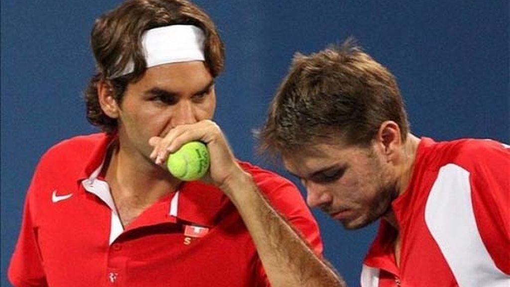 Federer ya tiene su oro