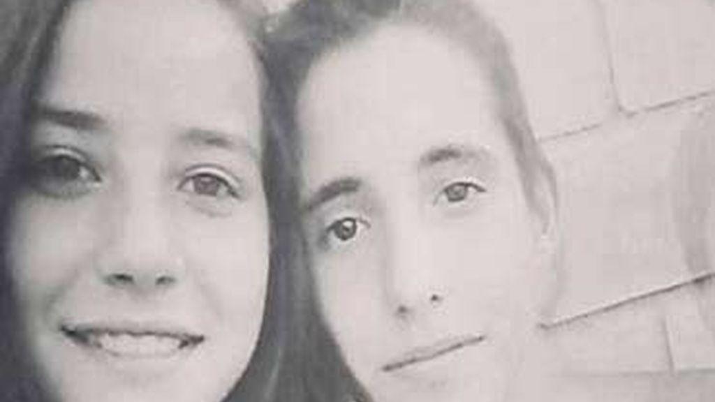 Nerea Caiz Robles de 14 años y Daniel Martínez Bermúdez, de 17