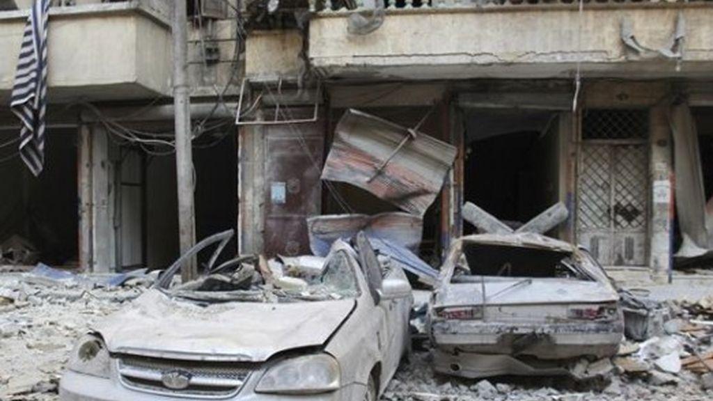 """La oposición siria denuncia una """"brutal"""" campaña de ataques con 'barriles bomba' del Ejército sobre Alepo"""